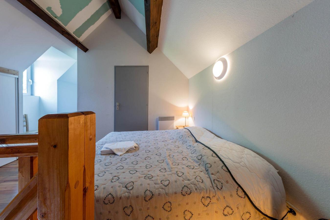 Location au ski Residence Les Trois Vallees - Saint Lary Soulan - Lit double