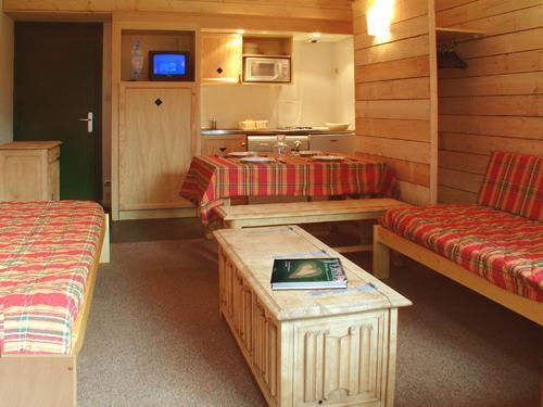 Location au ski Appartement 2 pièces alcôve 5 personnes - Residence Royal Milan - Saint Lary Soulan - Séjour