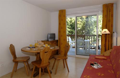 Location au ski Appartement 2 pièces 4 personnes - Residence Soleil D'aure - Saint Lary Soulan - Coin repas