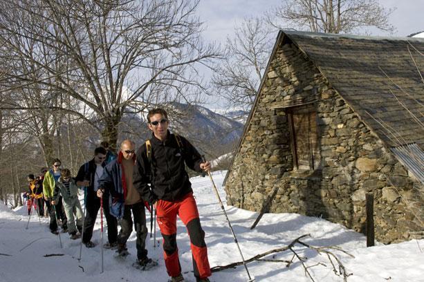 Location au ski Vvf Villages L'auregon - Saint Lary Soulan - Extérieur hiver