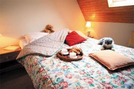 Location au ski Appartement 2 pièces coin montagne 6 personnes - Les Residences Pla D'adet - Saint Lary Soulan - Chambre mansardée
