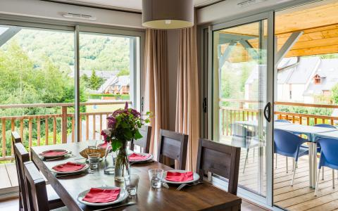 Location au ski Residence Lagrange Le Clos Saint Hilaire - Saint Lary Soulan - Table