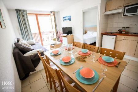 Location au ski Appartement 2 pièces cabine 6 personnes - Residence Les Balcons De La Neste - Saint Lary Soulan - Coin repas