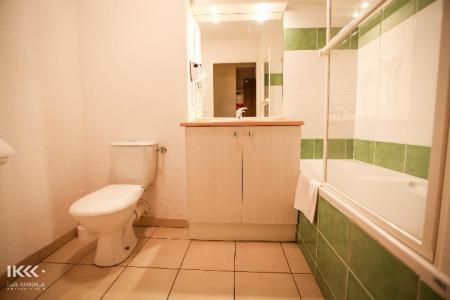 Location au ski Studio cabine 4 personnes (avec balcon) - Residence Les Balcons De La Neste - Saint Lary Soulan - Salle de bains