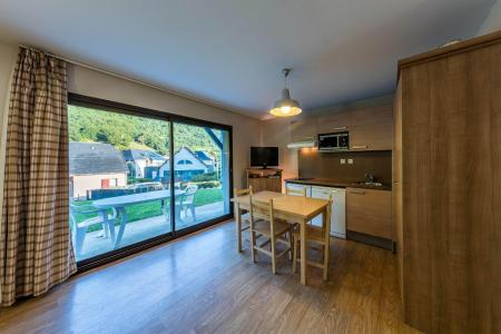 Location au ski Residence Les Trois Vallees - Saint Lary Soulan - Coin repas