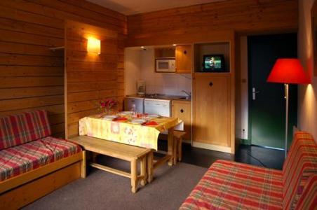 Location au ski Appartement 3 pièces 6 personnes - Residence Royal Milan - Saint Lary Soulan - Coin séjour