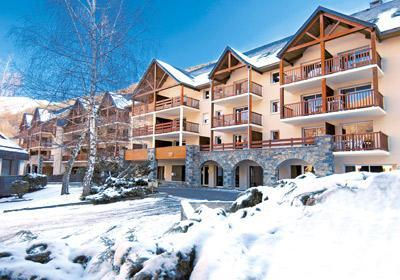 Location au ski Residence Soleil D'aure - Saint Lary Soulan - Extérieur hiver