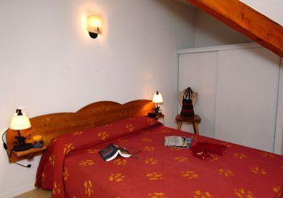 Location au ski Residence Soleil D'aure - Saint Lary Soulan - Chambre