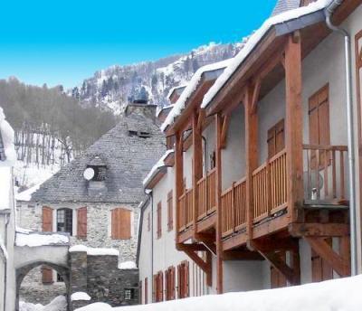 Location au ski Residence Vignec Village - Saint Lary Soulan - Extérieur hiver