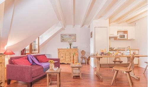 Location au ski Residence Vignec Village - Saint Lary Soulan - Séjour