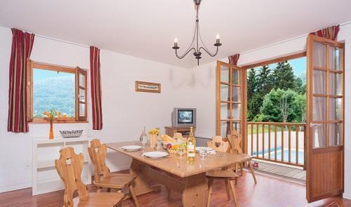Location au ski Residence Vignec Village - Saint Lary Soulan - Coin repas