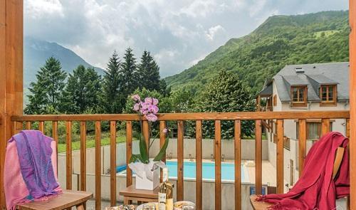 Location au ski Residence Vignec Village - Saint Lary Soulan - Balcon