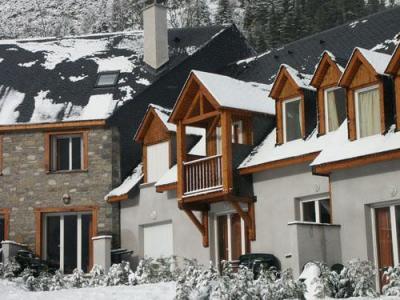 Location au ski Residences Vieille Aure - Saint Lary Soulan - Extérieur hiver