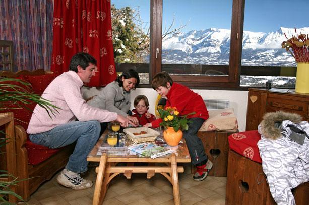 Location au ski Vvf Villages La Pause - Saint-Léger-les-Mélèzes - Appartement