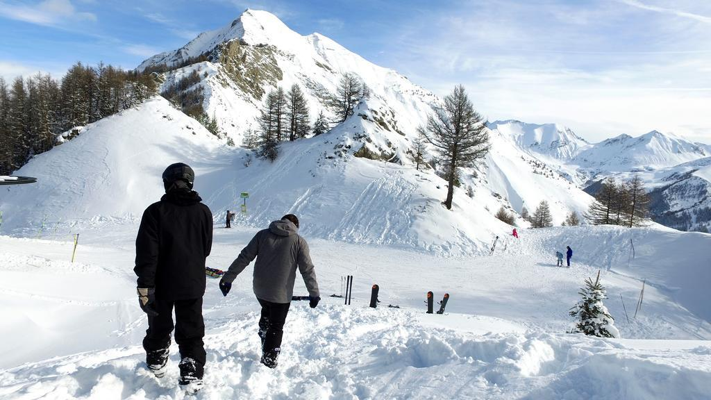 Vakantie in de bergen VVF Villages les Alpes du Sud - Saint-Léger-les-Mélèzes - Buiten winter