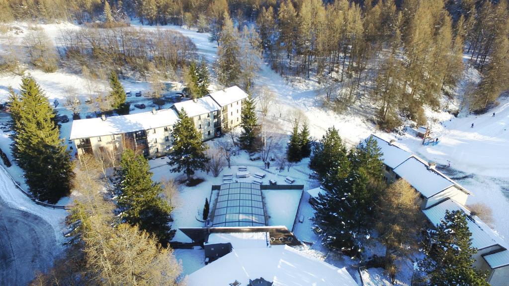 Location au ski VVF Villages les Alpes du Sud - Saint-Léger-les-Mélèzes - Extérieur hiver