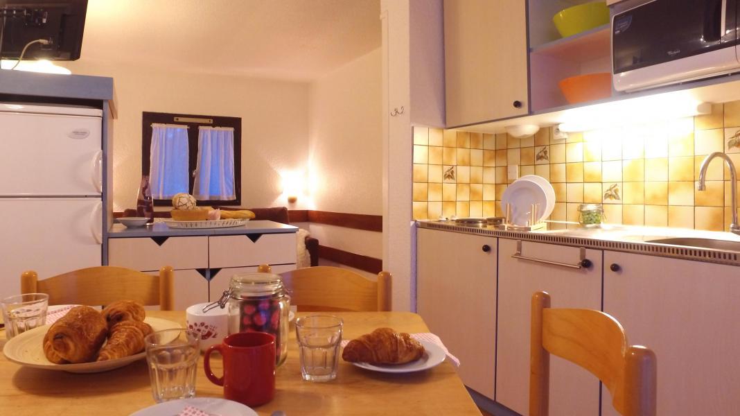 Location au ski VVF Villages les Alpes du Sud - Saint-Léger-les-Mélèzes - Salle à manger
