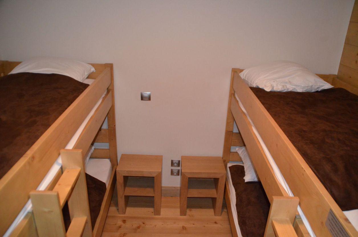 Location au ski Appartement 4 pièces 6 personnes (12) - Chalet Adele - Saint Martin de Belleville - Lits superposés