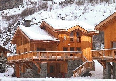 Location au ski Chalet Indiana - Saint Martin de Belleville - Extérieur hiver