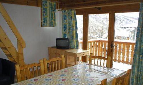 Location au ski Chalet 3 pièces cabine 6 personnes - Chalet Les Pachons - Saint Martin de Belleville - Salle à manger