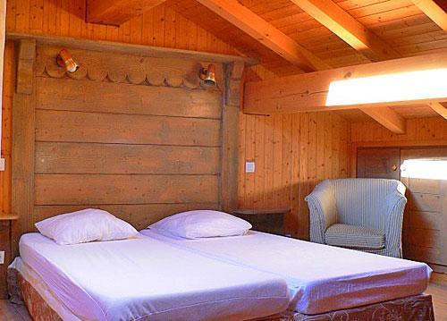 Location au ski Chalet triplex 4 pièces 7 personnes - Chalet Marmottes - Saint Martin de Belleville - Chambre mansardée