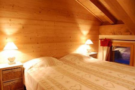 Location au ski Chalet mitoyen 7 pièces 14 personnes - Chalet Saint Marc - Saint Martin de Belleville - Chambre mansardée