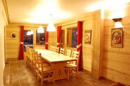 Location au ski Chalet mitoyen 7 pièces 14 personnes - Chalet Saint Marc - Saint Martin de Belleville - Salle à manger