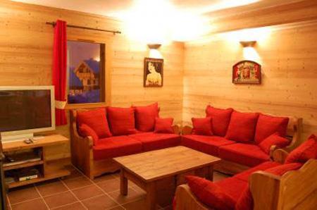 Location au ski Chalet mitoyen 7 pièces 14 personnes - Chalet Saint Marc - Saint Martin de Belleville - Séjour