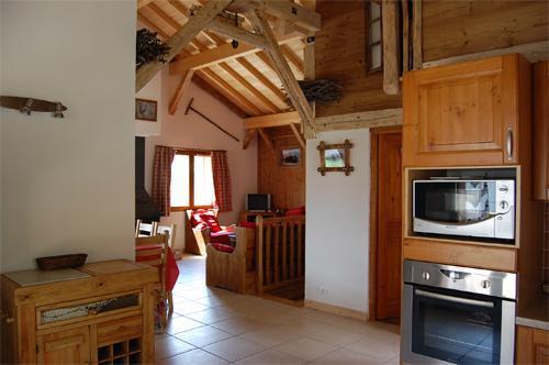 Location au ski Chalets Violettes - Saint Martin de Belleville - Séjour