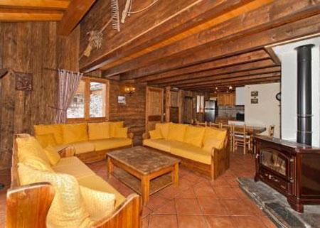 Location au ski Appartement duplex 6 pièces 10 personnes - Le Chalet Mimosa - Saint Martin de Belleville - Canapé