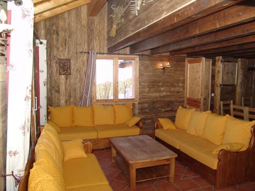 Location au ski Appartement duplex 6 pièces 10 personnes - Le Chalet Mimosa - Saint Martin de Belleville - Coin séjour
