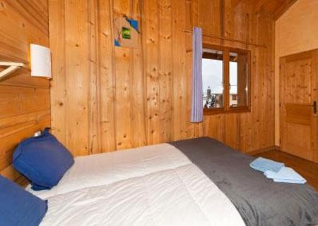 Location au ski Appartement duplex 6 pièces 10 personnes - Le Chalet Mimosa - Saint Martin de Belleville - Lit double