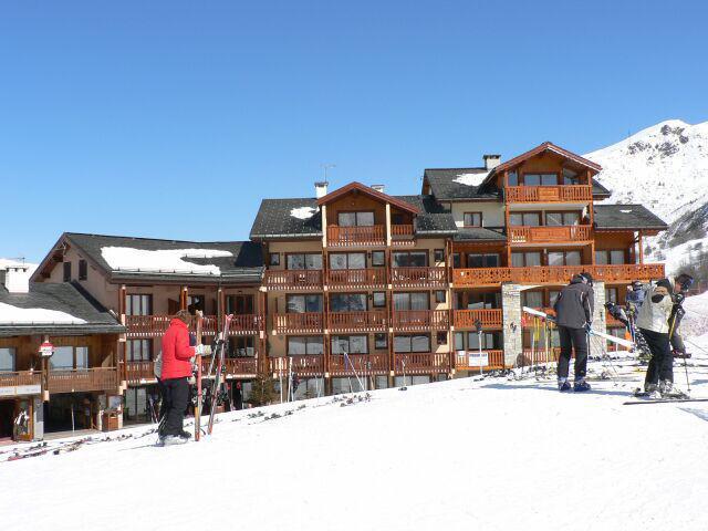 Ski en décembre Residence L'eperviere