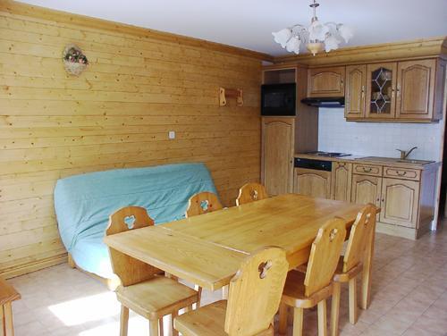 Location au ski Appartement 3 pièces 4 personnes (2) - Residence La Voute - Saint Martin de Belleville - Coin repas