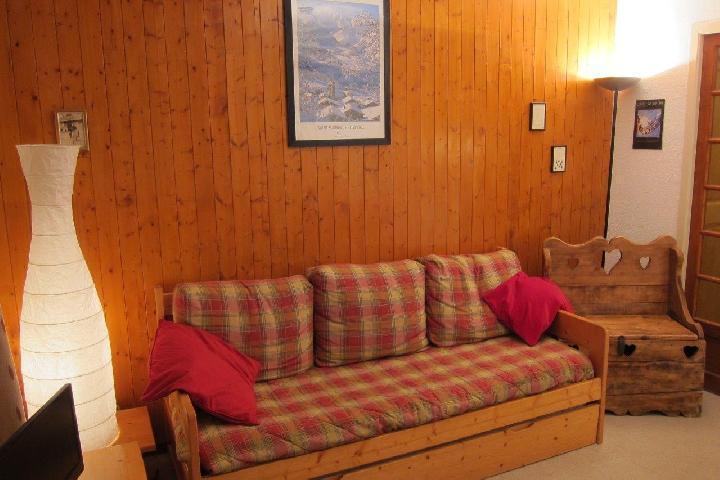 Location au ski Appartement 2 pièces 4 personnes - Residence Murgers - Saint Martin de Belleville - Banquette-lit