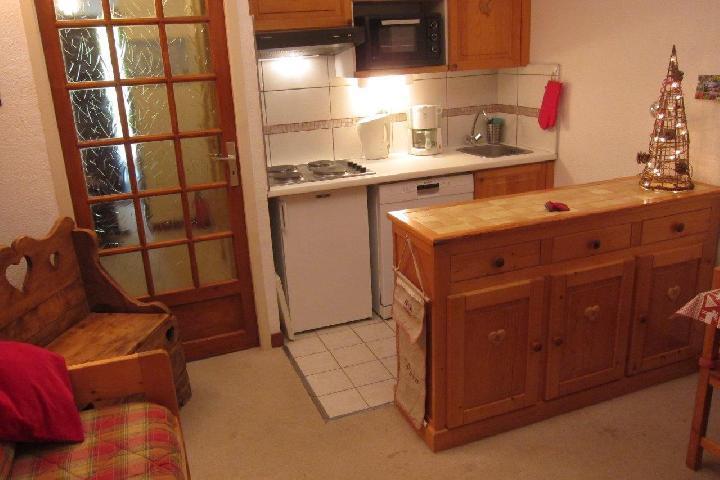 Location au ski Appartement 2 pièces 4 personnes - Residence Murgers - Saint Martin de Belleville - Kitchenette