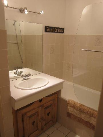 Location au ski Appartement 2 pièces 4 personnes - Residence Murgers - Saint Martin de Belleville - Salle de bains