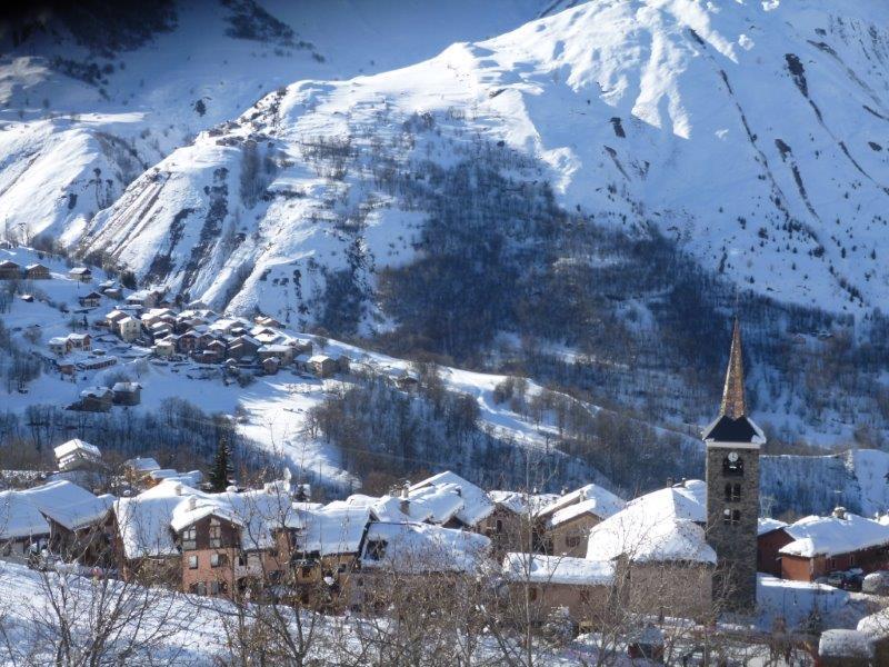 Wynajem na narty Chalet Adèle - Saint Martin de Belleville - Zima na zewnątrz