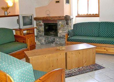Skiverleih 3-Zimmer-Appartment für 4 Personen - Chalet Balcons Acacia - Saint Martin de Belleville - Wohnzimmer
