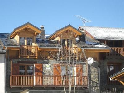 Location au ski Chalet Balcons Acacia - Saint Martin de Belleville - Extérieur hiver