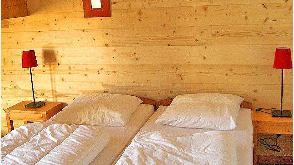 Location au ski Chalet Balcons Acacia - Saint Martin de Belleville - Chambre