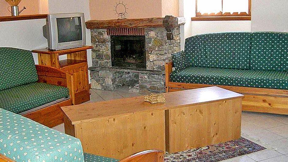 Location au ski Chalet Balcons Acacia - Saint Martin de Belleville - Séjour