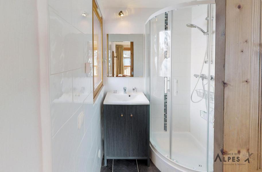 Skiverleih 10 Zimmer Chalet für 18 Personen (LET) - Chalet de la Villette - Saint Martin de Belleville - Doppelbett
