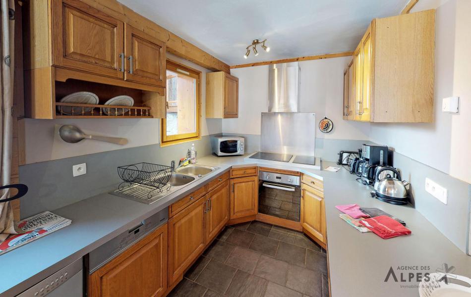 Skiverleih 10 Zimmer Chalet für 18 Personen (LET) - Chalet de la Villette - Saint Martin de Belleville - Küche
