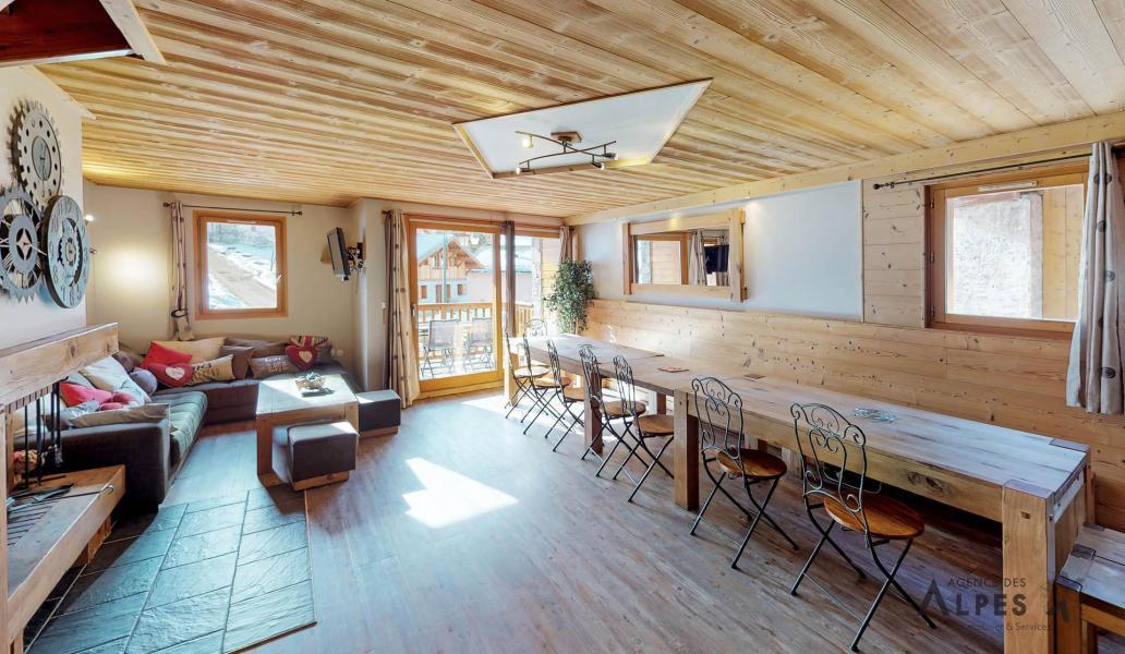 Location au ski Chalet 10 pièces 18 personnes (LET) - Chalet de la Villette - Saint Martin de Belleville - Salle à manger