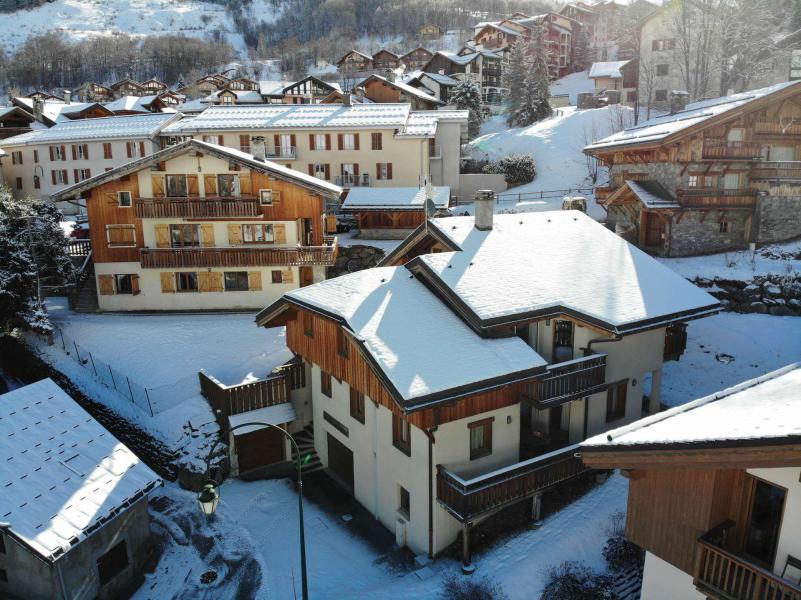 Location au ski Chalet des Encombres - Saint Martin de Belleville - Extérieur hiver