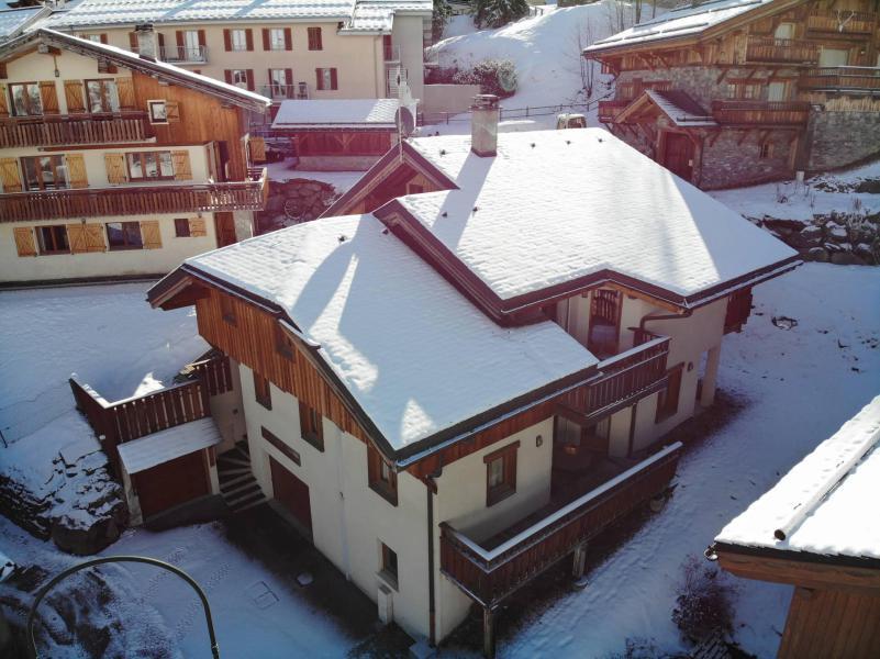 Vacances en montagne Chalet des Encombres - Saint Martin de Belleville - Extérieur hiver