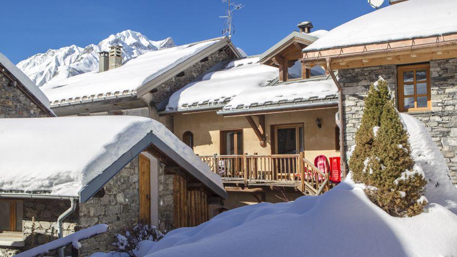 Location au ski Chalet Gremelle - Saint Martin de Belleville - Extérieur hiver