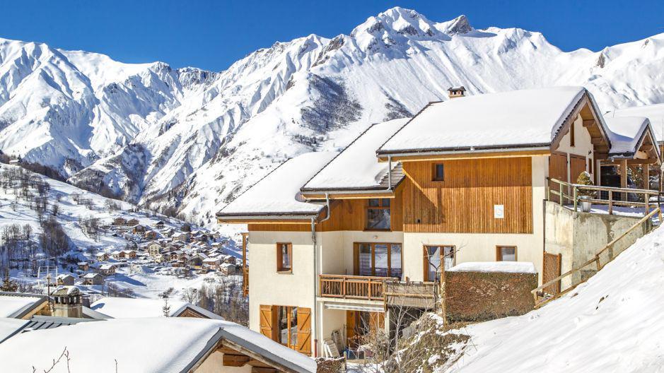 Location au ski Chalet Iris - Saint Martin de Belleville - Extérieur hiver