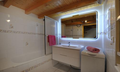Location au ski Appartement duplex 3 pièces 5 personnes - Chalet Iris - Saint Martin de Belleville - Baignoire